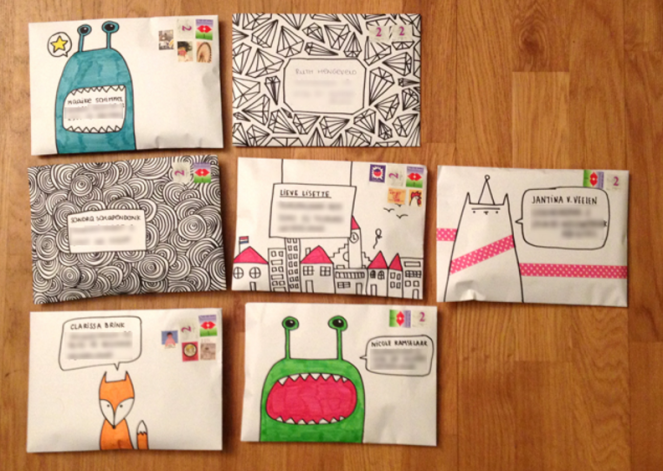 more envelopes